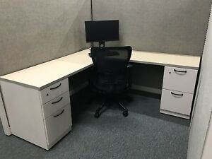 Steelcase Answer Cubicle 6x6 4 Pack