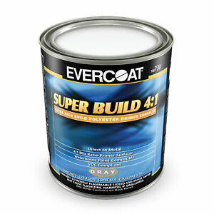 Evercoat Automotive Polyester Primer 730 Super Build Gray 1 Gallon