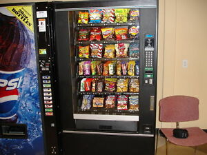 Glass Front Snack Vending Machine Refurbished