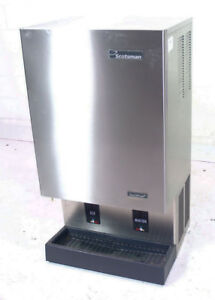 Used Scotsman Mdt5n40a 1 523lb Nugget Ice Maker Water Dispenser Air Cooled