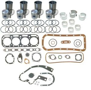 Engine Overhaul Kit Allis Chalmers D10 D12 D14 D15 Tractor H3 I 40 I 400