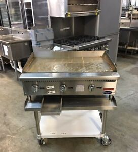 Grill Flat Top 36 New Us Cookrite Atmg 36 36 Flattop Griddle Gas