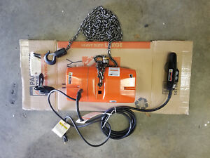 Cm Valustar Electric Chain Hoist 1 2 Ton 15 Ft Lift New Model Wf