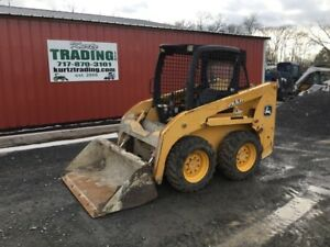 2011 John Deere 313 Skid Steer Loader Only 1400 Hours Needs Work