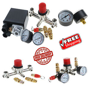 Air Compressor Pressure Control Switch W Regulator Safety Valve