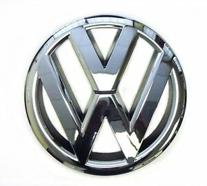 For Vw Emblem Jetta Sedan Mk6 2011 2014 Front Grille Badge Genuine 5c6853601ulm