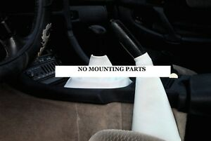 White Manual Shift Emergency Brake Boot Cover Fits 90 91 96 Dodge Stealth