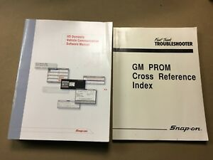 Snap On Us 2005 Domestic Vehicle Com Software Manual Gm Prom Cross Ref