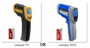 Digital Laser Infrared Thermometer Temperature Gun Non contact 2 Choices 1x 2x