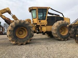 2004 Tigercat 630c Log Skidder Cummins 8 3 Liter Engine Great Machine