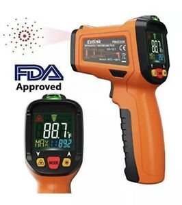 Es6530b Non contact Digital Laser Ir Infrared Thermometer Temperature Gun