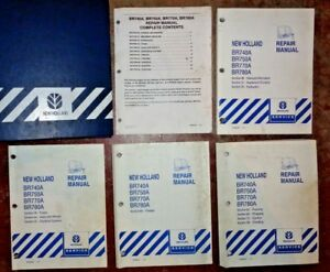 New Holland Br740a Br750a Br770a Br780a Round Baler Service Repair Manual Oem