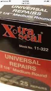 11 322 Xtraseal 2 1 4 Medium Round Style Universal Patch Radial Tire Repair Usa