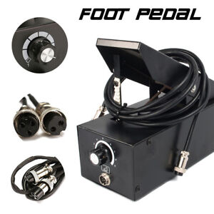 Tig Welder Plasma Cutter Foot Pedal 7 Pin Switch Power Control Momentary Action