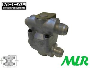 Mocal Ot 2g Remote Oil Cooler 80 Degree Thermostat With An 10 Jic Fittings Bct