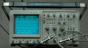 Tektronix 2465bct 400 Mhz Oscilloscope Calibrated Sn b054925 30day Warranty