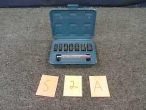 7 Pc Vim Tool Hollow Punch Standard Gasket Set P79 Sae 1 4 5 8 Military Tool A