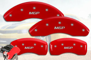 2002 2004 Ford Focus Svt Front Rear Red Mgp Brake Disc Caliper Covers