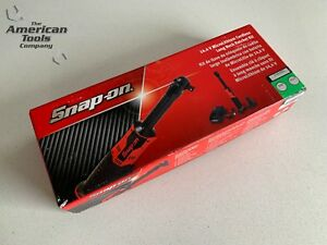 New Snap On 14 4 V 3 8 Drive Green Microlithium Cordless Ratchet Ctreu767g