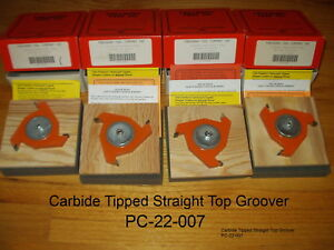 Freeborn Pro line Wood Shaper Cutters Pc 22 007 Carbide Tipped Bbrc New