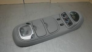 Ford Excursion Overhead Top Roof Console Map Light 00 05 Grey Gray