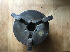 Southbend Lathe 9 10k Atlas Craftsman 5 3 Jaw Chuck Wescott 6305 With Faceplate