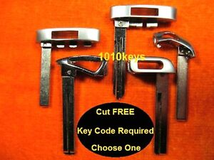 Blade Cut By Key Code Remote Emergency Key Keys For Listed Door Trunk Access