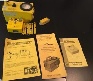 Victoreen Instrument Co Cdv 717 Radiological Survey Meter Kit Civil Defence