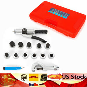New 11 Lever Hydraulic Tube Expander Tubing Expand Tool Swag Kit Al Zinc Body