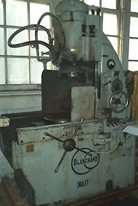 16 Blanchard N0 11 Rotary Surface Grinder Good Chuck And Rectifier