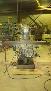 Vertical Milling Universal all angle Head hure 13 X 65 Table 1000 Off