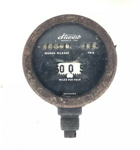Vintage 1920 S Stewart Magnetic Type Speedometer For Model A Or T Cars