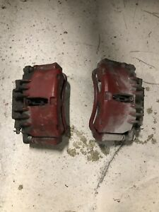 99 04 Ford Mustang Gt Front Dual Piston Pbr Brake Calipers Caliper Brakes