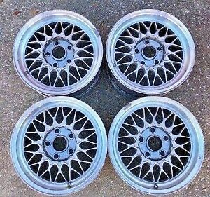 Mazda Rx 7 Bbs Wheels Oem Original Parts