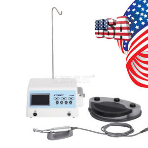 Dental Implant Motor System Led Screen Surgical Brushless handpiece Azdent New