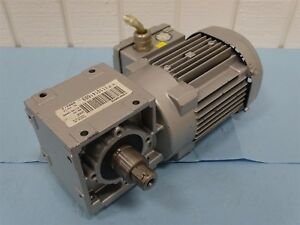 Sew Eurodrive W20 Dr63s4 th Gear Motor 266 460v 0 58 0 34a 1680 35rpm 3 Phase
