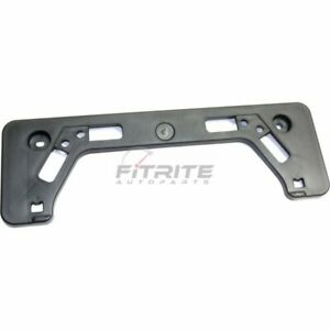 New Front License Plate Bracket Textured For 2012 14 Toyota Prius V To1068132