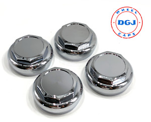 Hex Cut Chrome Knock Off Spinner Cap For Lowrider Wire Wheels