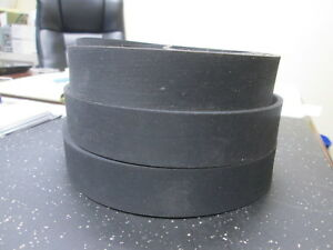 Lot Of Three 33 X 1 X 1 8 Rubber Band Saw Wheel Tires Brand New Un used