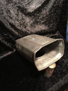 B M Aluminum Scoop 2 Piece Air Cleaner Vintage Rare