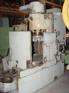42 Chk 50hp Spdl Toshiba Krtc 11a Rotary Surface Grinder Made In Japan Emc S