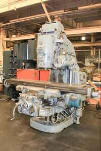 79 25 Tbl 15hp Spdl Cincinnati 415 16 dt Vertical Mill 50 Taper Geared Head