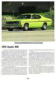 1970 Plymouth Duster 340 Article Must See