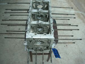 Corvair 65 68 Smog Pg Engine Block T1128rw Degreased 110 Hp 8 Case Bolts