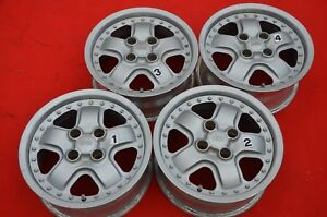 Jdm 14 Mugen Mr5 M2 Wheels Rims 14x6j 38 4x100 Honda Civic Ef8 Ef9 Mr 5