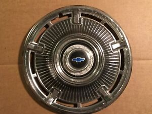 1965 Chevrolet Chevy Belair Impala Biscayne Nomad Hubcap Vintage 14 Dia Nm