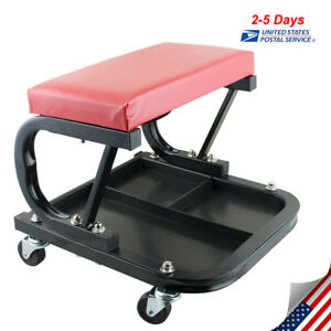 Mechanics Storage Creeper Roller Seat Chair Stool Tray Repair Tools Garage Shop