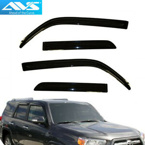 Avs 94242 4pc Window Vent Visor Rain Guards For Toyota 4runner 2010 2019