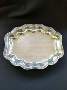 Wilcox International Silver Footed Serving Dish Platter Plate 436