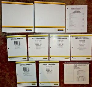 New Holland Roll Belt 450 460 550 560 Round Baler Service Repair Manual Original